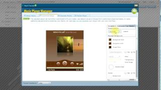 Music Player for your website and Blog.  Easy WebContent Music Player MP3 Player