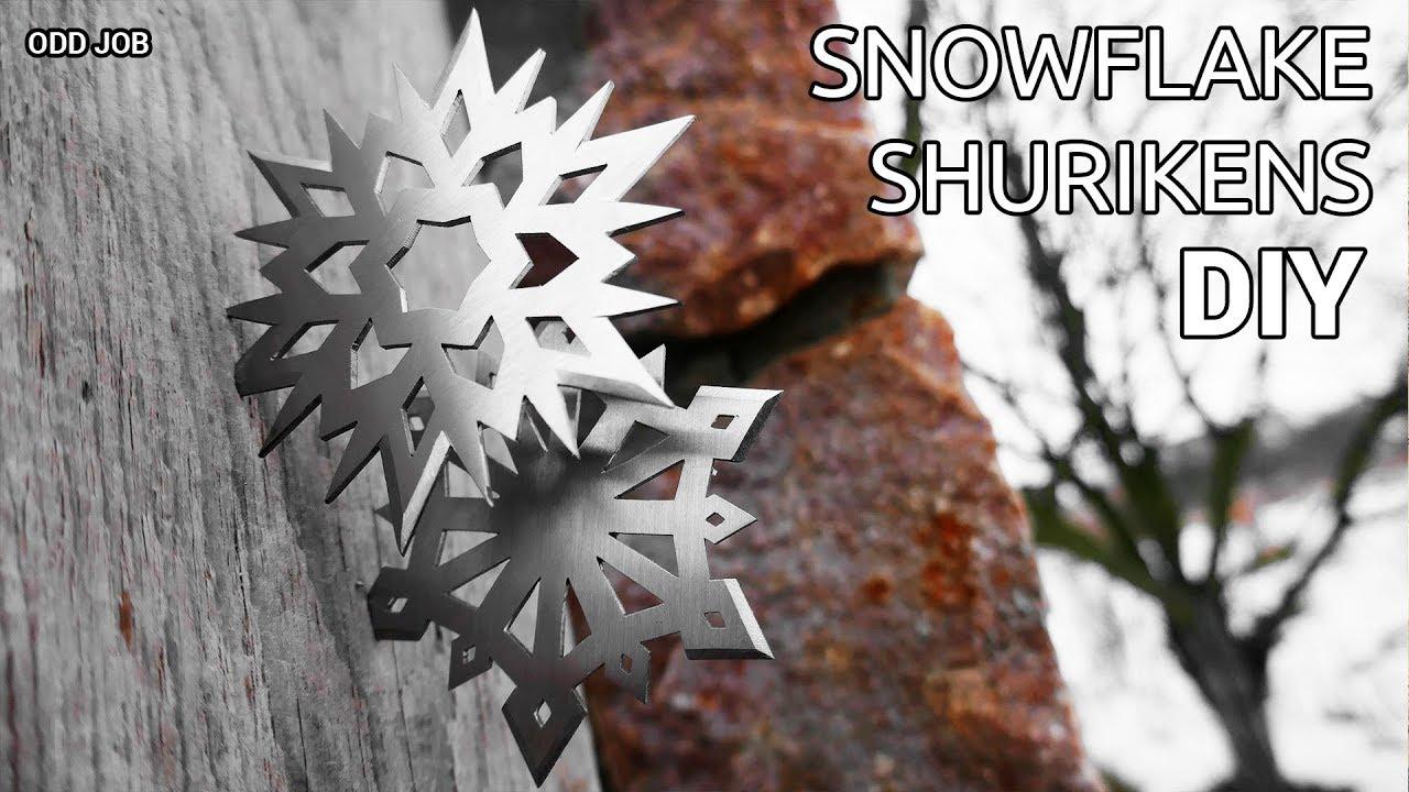 Making Snowflake Shurikens