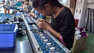 Inside a Small Chinese Electronics Factory - From the Archives