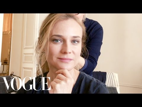 How Diane Kruger Takes Her Beauty Routine to the Front Row  Vogue