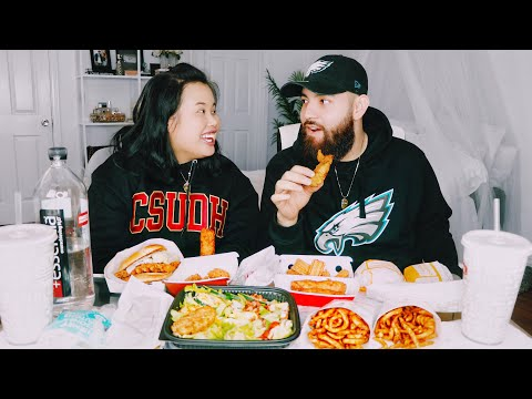 JACK IN THE BOX MUKBANG 먹방 (Eating Show!)