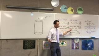 Volume by Cylindrical Shells (3 of 3: Finding the Volume via Cylindrical Shells and which to choose)