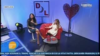 ANNALAURA GAUDINO Domenica Luna Live puntata del 12/2/ 17 mpg