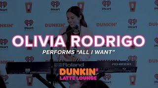 "Download Olivia Rodrigo Performs ""All I Want"" Live | Dunkin' Latte Lounge"