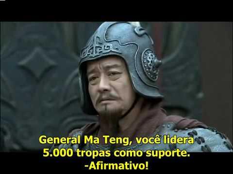 Três Reinos Guan Yu vs Hua Xiong PTBR