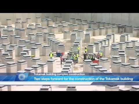ITER Tokamak complex April 2012