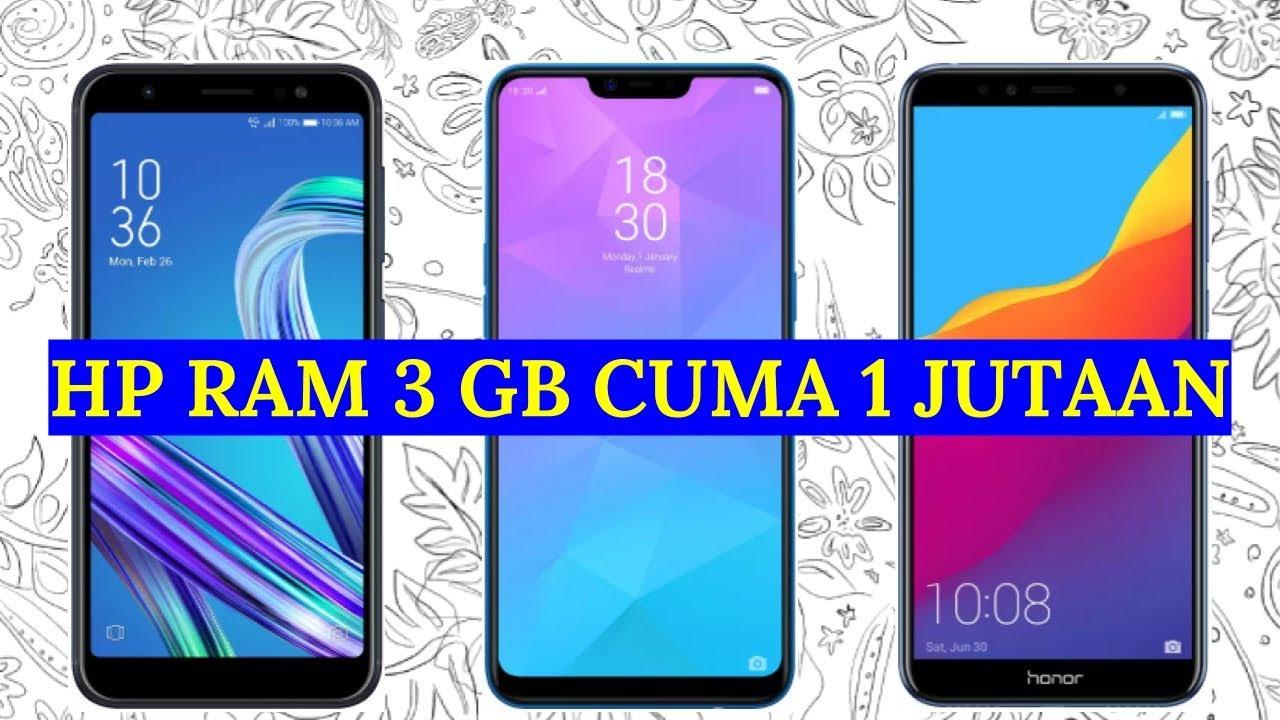 5 Hp Ram 3 Gb Harga 1 Jutaan Terbaik 2019 Youtube