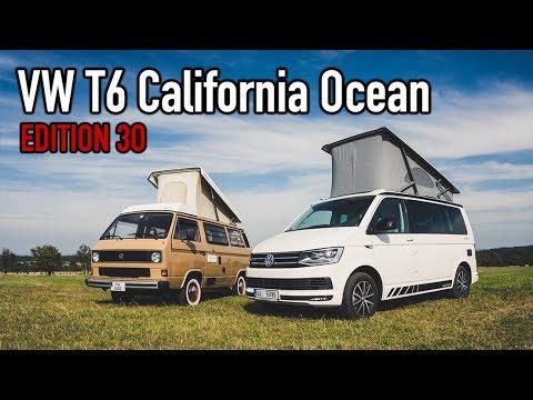 Jaká je VW T6 California Ocean Edition 30?