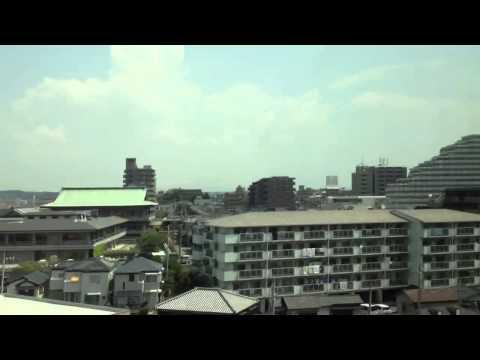 Japanese Bullet train Hiroshima to Kyoto