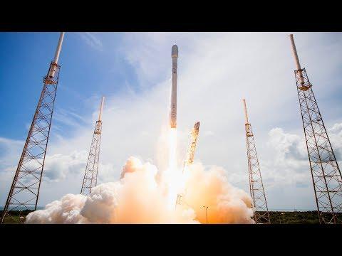 LIVE Space X Falcon 9 Rocket Es'hail 2 Communications Satellite Launch