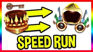 GOLDEN DOMINUS EVENT SPEEDRUN! COPPER KEY TO GOLDEN EGG! (Golden Wings of the Pathfinder) | Roblox
