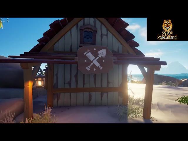 Seb : De la mer et de la piraterie