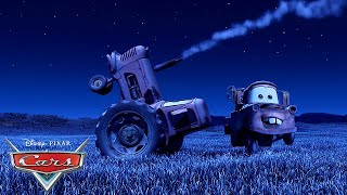 Tractor Tipping with Mater and Lightning McQueen | Pixar Cars