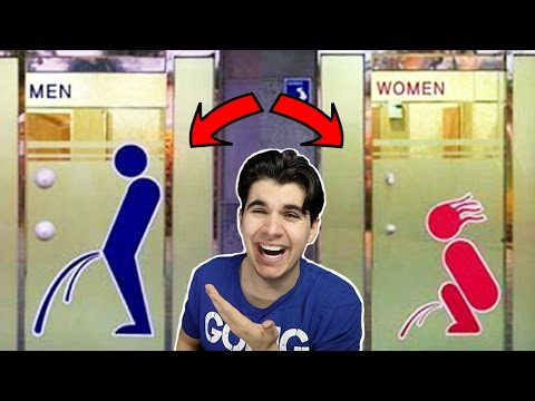 MOST HILARIOUS BATHROOM SIGNS EVER!