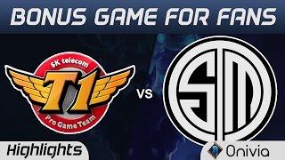 SKT vs TSM Highlights Special Pre-Playoffs show match SK Telecom vs Team Solo Mid