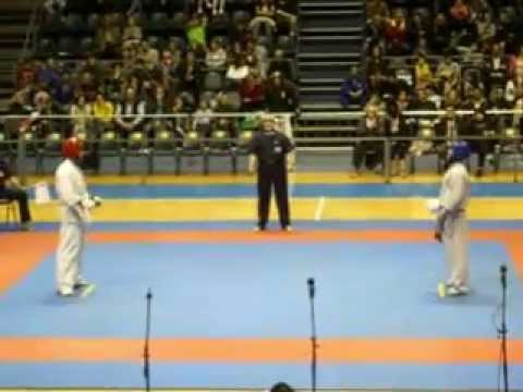 KYOKUSHIN BELGRADE TROPHY-Milan Kostic vs Ali Pour Heidar