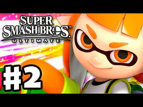 Super Smash Bros Ultimate Inkling Gameplay скачать с 3gp mp4