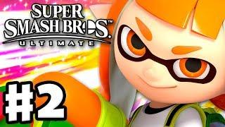 Inkling Unlocked! - Super Smash Bros Ultimate - Gameplay Walkthrough Part 2 (Nintendo Switch)
