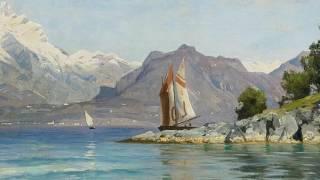 Peder Mørk Mønsted (1859-1941) - Danish Realist Painter