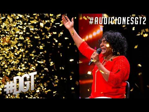 Le gana al cáncer y se gana el Golden Buzzer de nuestra host Karina | Dominicana´s Got Talent 2021