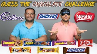 GUESS THE CHOCOLATE CHALLENGE | Chocolate Challenge | Food Challenge