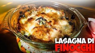 Lasagna Di Finocchi laida e Corrotta | in Cucina Con Ciccio