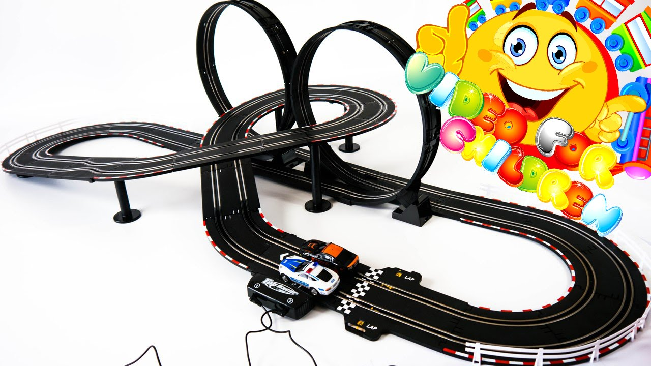 Remote Control Toy Race Car Track Sets