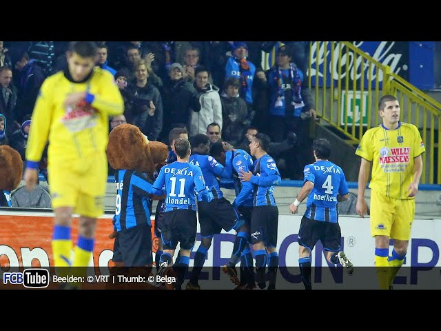 2010-2011 - Jupiler Pro League - 18. Club Brugge - VC Westerlo 4-3