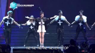 蔡依林 Jolin Tsai 精彩表演 - 第八屆 KKBOX 數位音樂風雲榜