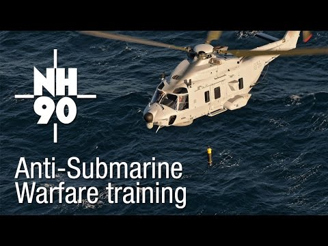 Sweden NH90 Anti-Submarine Warfare training