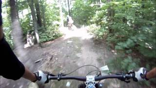 Downhill mountain biking at camp fortune, Gatineau