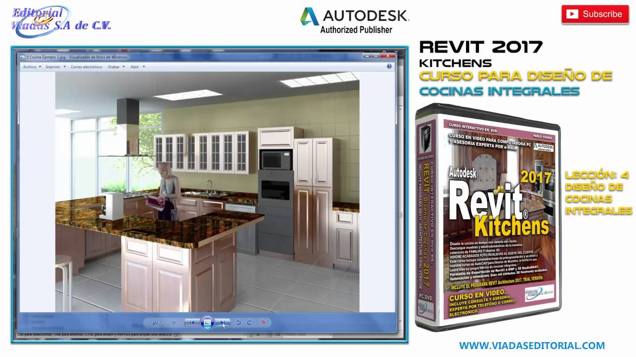 Revit 2017 Kitchens Curso | Tutorial en Español Leccion 4: Diseño de ...