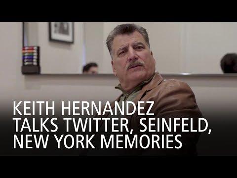 Keith Hernandez Talks Twitter, Seinfeld, New York Memories