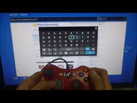 how to get xbox controller to work on ps4