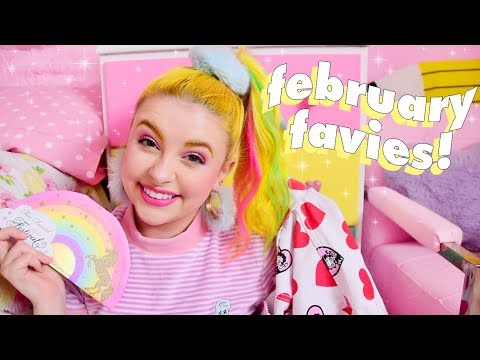 ✨ FEBRUARY FAVIES 💘 Lazy Oaf, Too Faced, Magical Girls and TUNES 🔥