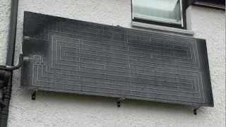 Thermodynamic Water Heating Panel System - Dundee - Angus - Scotland