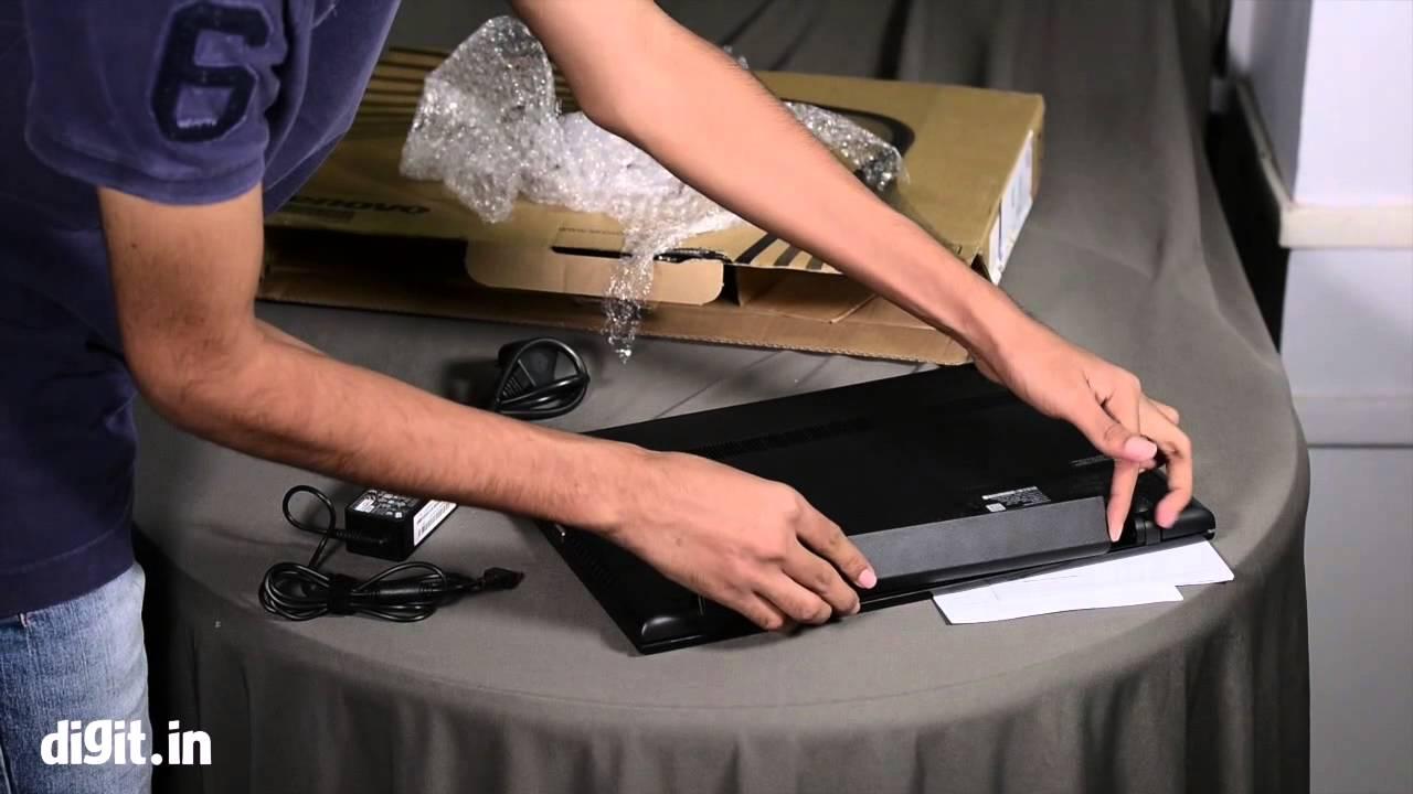 Lenovo G50-80 Unboxing - YouTube