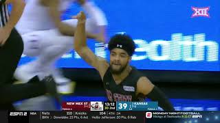 Kansas vs. New Mexico State Men's Basketball Highlights