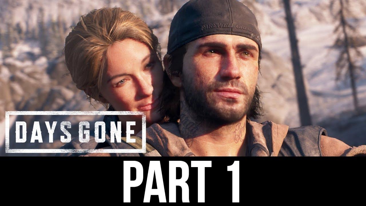 Days Gone Ps4 Gameplay Walkthrough Part 1 Intro Full