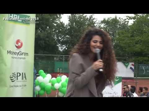 Annie Khalid at Pakistan Festivals 2015 Amsterdam