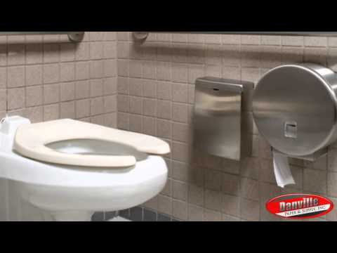 How to properly clean a restroom with Danville Paper and Supply