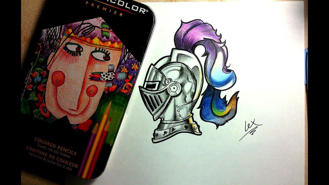 Dibujando El Logo De Los Caballeros Youtubers.