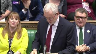 Corbyn VS May - Underfunding Schools