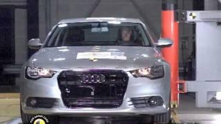 Crash Test New Audi A6 2012
