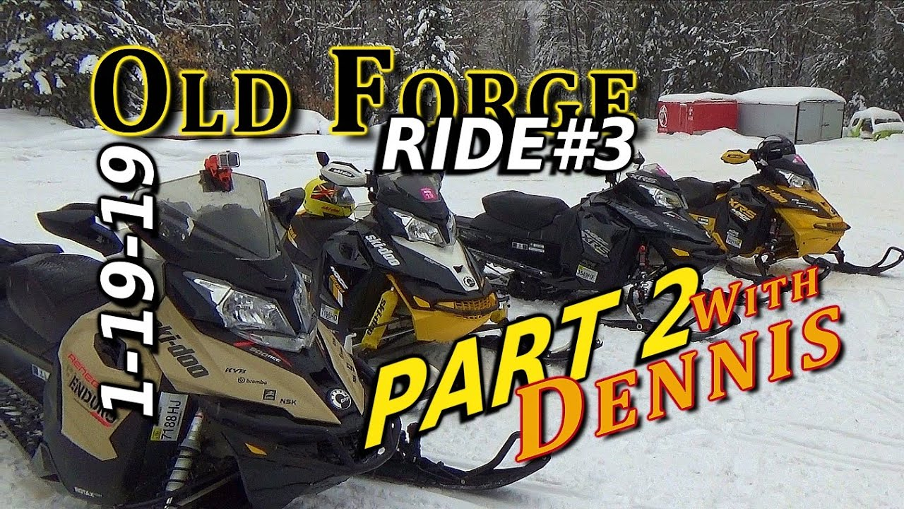 Old Forge Ride #3 of the Season: Jan 19th 2019