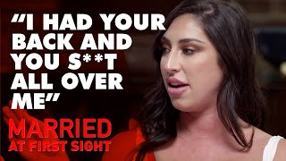&#39You spoilt b&#39 Mick and Tam&#39s furious reaction to Jess and Dan&#39s affair MAFS ...