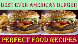 How to Make American Burger  - Best Ever American Burgers Recipe in English