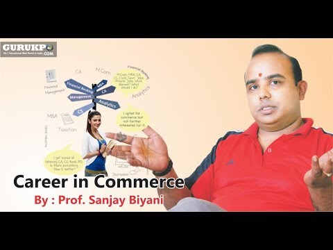 Career guidance  in Commerce and Management