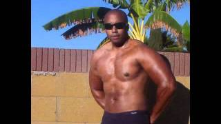 sexy black male chocolate 24 hour fitness personal trainer los angeles area