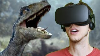 BLUE IS ALIVE!!! - Jurassic World: Blue | Oculus VR